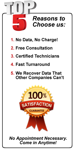 top 5 reasons choose mass data recovery